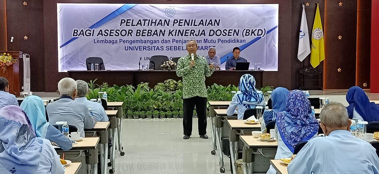 Pelatihan Penilaian Bagi Asesor Beban Kinerja Dosen ( BKD )