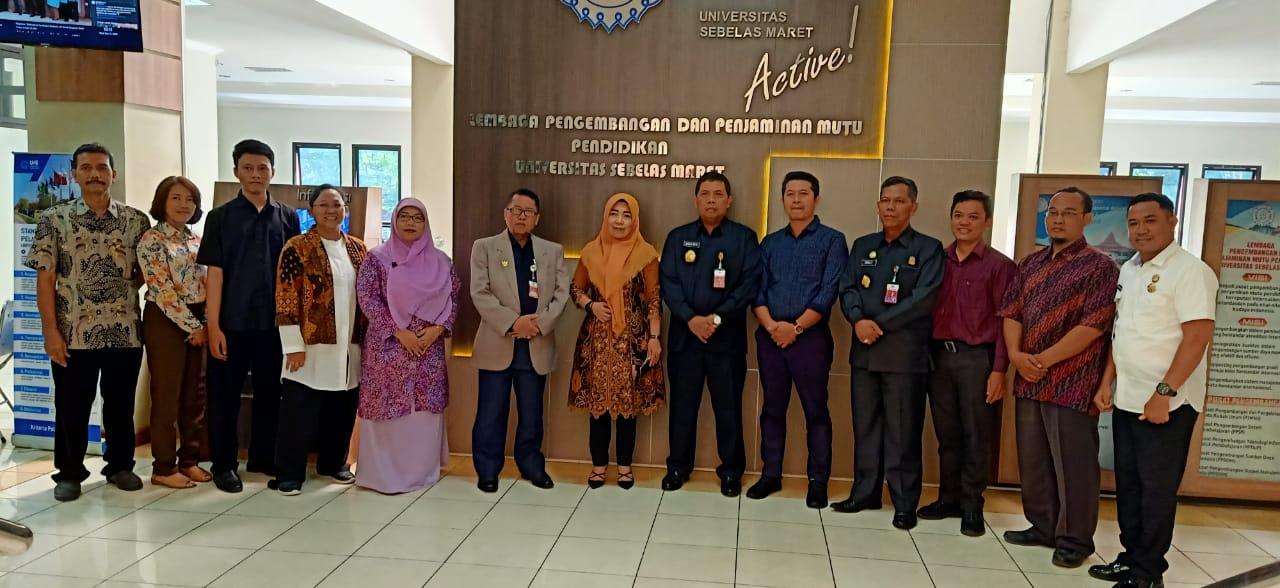 Kunjungan Universitas Pertahanan ke LPPMP Universitas Sebelas Maret