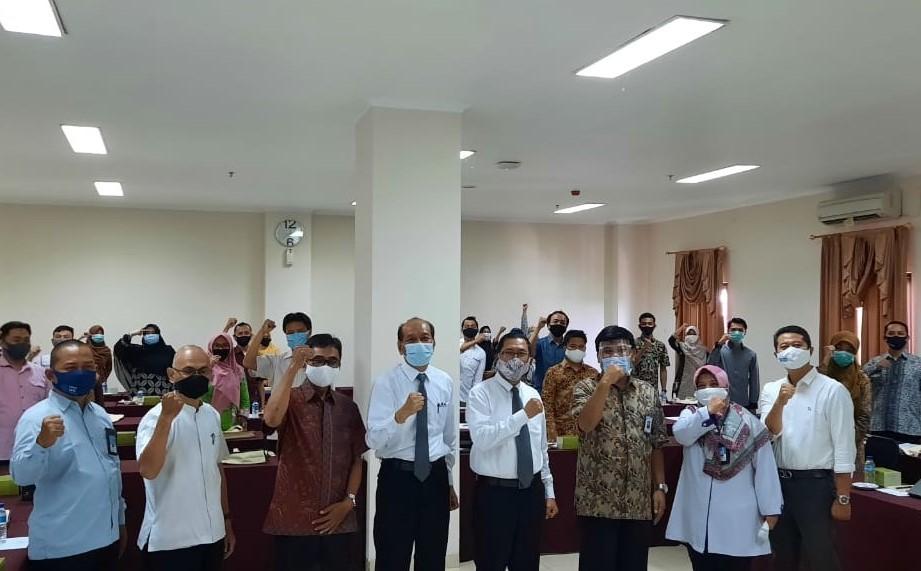 Pembukaan Pelatihan Pekerti AA dosen Politeknik Negeri Semarang