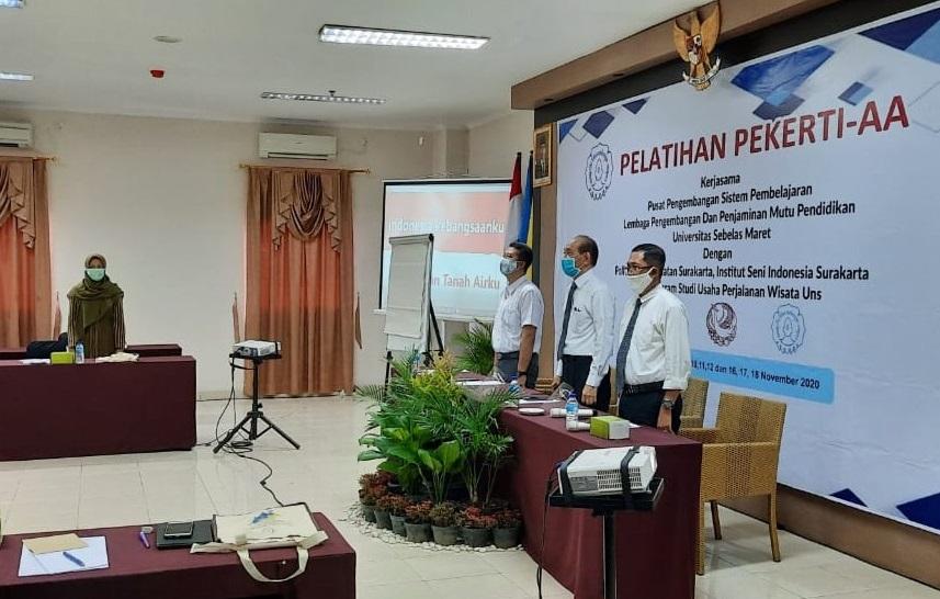 Pelatihan Pekerti AA Poltekkes, ISI dan D3 UPW