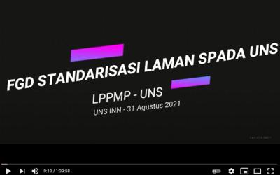 FGD STANDARISASI LAMAN SPADA